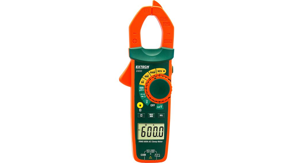 Įsigykite Current clamp meter, 600 AAC, TRMS AC
