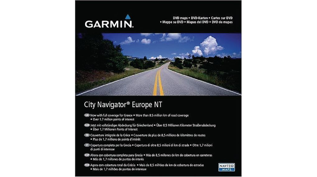 Carte Europe Garmin.City Navigator Nt Europe Dvd Street