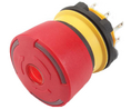 Įsigykite Emergency Stop Switch 2NC Round Button Plug Connection