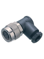 Cable socket angled, 2-pole Poles 2 4 A 125 VAC/VDC Įsigykite {0}